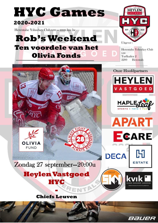 Poster Robs Weekend